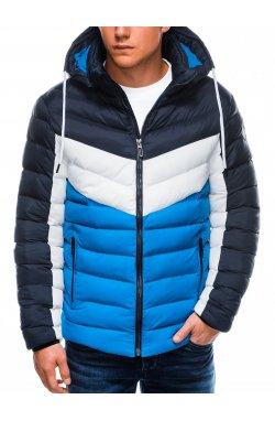 Куртка мужская демисезонная K418 - голубой
