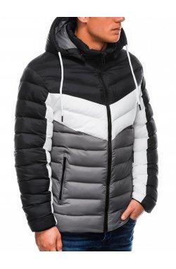 Куртка мужская демисезонная K418 - Серый