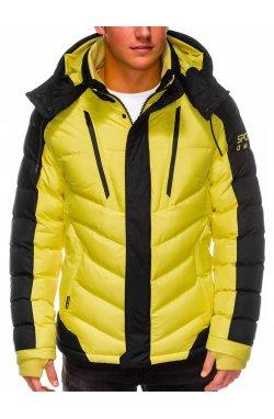 Куртка мужская демисезонная K417 - желтый