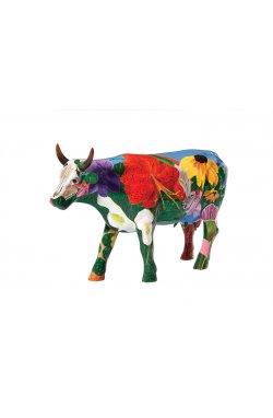 Коллекционная статуэтка корова Georgia O'Cowffe - wos408