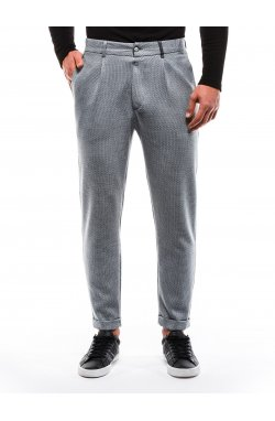 Spodnie męskie chino P869 - серый