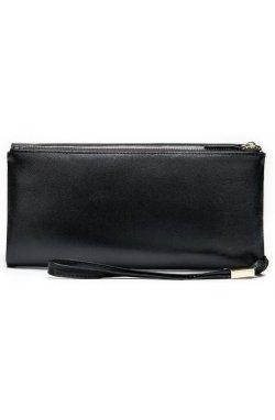 Клатч унисекс Vintage 14904 Черный, Черный