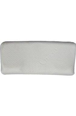 Ортопедическая подушка с эффектом памяти F. A. N. Visco Soft 40x80, Цвет - белый