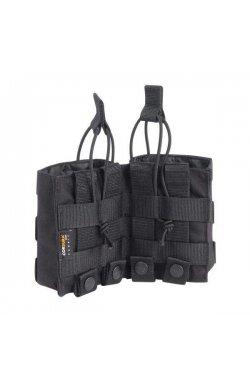 Подсумок для магазинов Tasmanian Tiger - 2 SGL Mag Pouch BEL HK417 Black (TT 7703.040)
