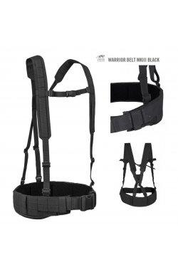 Разгрузочный пояс Tasmanian Tiger - Warrior Belt MK3 Black, L (TT 7655.040-L)