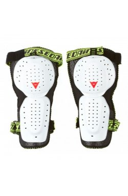 Наколенники защитные Dainese - Action Knee Guard Evo Black/White, р.One Size (DNS 4879881.622)