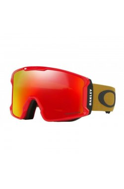 Маска Oakley - Line Miner Red Burnished Iron Prizm Torch Iridium (OAK LINEMINER.707023)