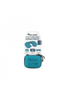 Подушка надувная Sea To Summit - Aeros Ultralight Pillow Traveller Aqua, 11 х 39 х 29 см (STS APILULYHAAQ)