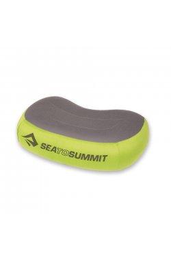 Подушка надувная Sea To Summit - Aeros Premium Pillow Green/Grey, 11 х 34 х 24 см (STS APILPREMRGN)