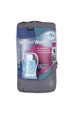 Набор полотенце + шампунь Sea To Summit - Tek Towel Wash Kit Berry, 50 х 100 см (STS ATTKITMBE)
