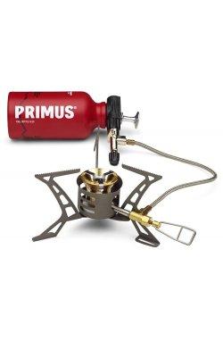 Мультитоплевная горелка с флягой для жидкого топлива Primus - Fuel Bottle Steel, 0.35 л (PRMS 321985)