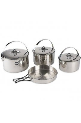 Набір посуду Tatonka - Family Cook Set L, Silver (TAT 4024.000)