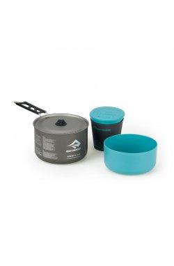 Набор посуды Sea To Summit - Alpha Cookset 1.1 Pacific Blue/Grey (STS APOTACKSET1.1)