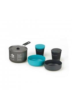 Набор посуды Sea To Summit - Alpha Cookset 2.1 Pacific Blue/Grey (STS APOTACKSET2.1)