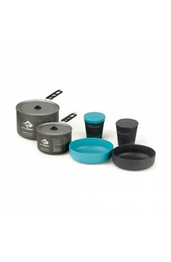 Набор посуды Sea To Summit - Alpha Cookset 2.2 Pacific Blue/Grey (STS APOTACKSET2.2)