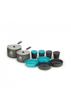 Набор посуды Sea To Summit - Alpha Cookset 4.2 Pacific Blue/Grey (STS APOTACKSET4.2)