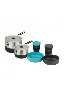 Набор посуды Sea To Summit - Sigma Cookset 2.2 Pacific Blue/Silver (STS APOTSIGSET2.2)