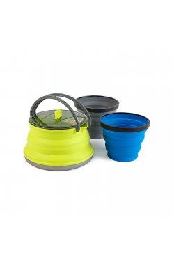 Набор складной посуды Sea To Summit - X-Set 11 Mix color (STS AXSET11LI)
