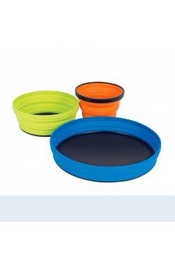 Набор складной посуды Sea To Summit - X-Set 3 Mix color (STS AXSET3)