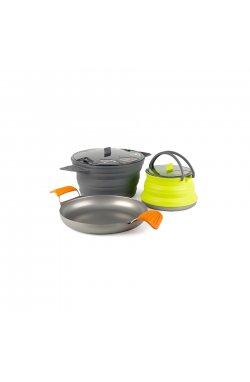 Набор складной посуды Sea To Summit - X-Set 32 Mix color (STS AXSET32GY)