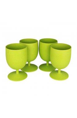 Набор из 4-х стаканов Eco SouLife - Bio Eco Goblet 4pcs Lime, 0.250 л (ESL BW14-029-LIM)