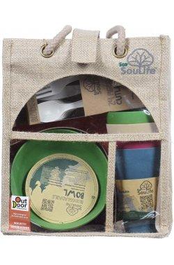 Набор посуды для 4х человек Eco SouLife - Picnic Set Tokyo (ESL BW11-009-TOK)