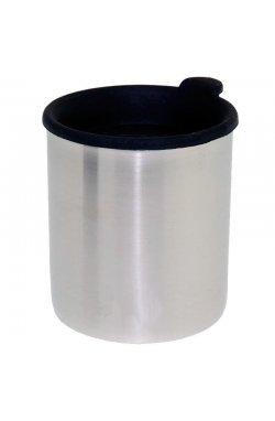 Термокружка с крышкой Tatonka - Thermo Mug 250, Silver/Black (TAT 4082.000)