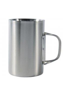 Термокружка с крышкой Tatonka - Thermo 350, Silver/Black (TAT 4081.000)