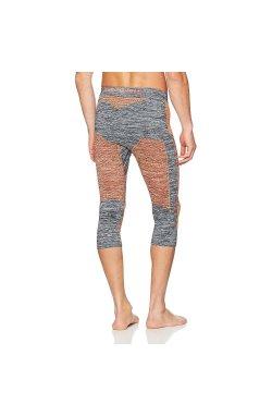 Термоштаны мужские X-Bionic - Accumulator Evo Men Melange Pants Grey Melang/Orange, р.L/XL (XB I100667.G372-L/XL)