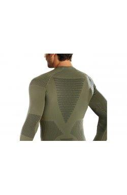 Термофутболка мужская X-Bionic - Hunting Man Shirt LS Roundneck Sage Green/Anthracite, р.S/M (XB I20239.E122-S/M)