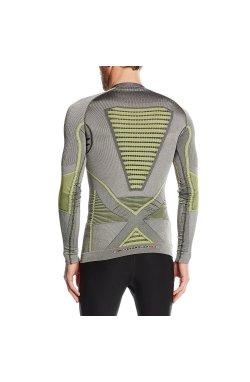 Термофутболка мужская X-Bionic - Radiactor Evo Man Shirt LS Iron/Yellow, р.L/XL (XB I20315.S051-L/XL)
