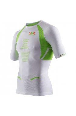 Термофутболка мужская X-Bionic - Trick Running Man Shirt SS White/Lime, р.M (XB O100049.W091-M)