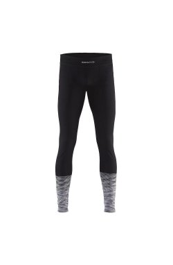 Термоштаны мужские Craft - Keep Warm Wool Comfort 2.0 Pants Black/Dark Grey Melange, p.XL (CRFT 1905346.999975-XL)