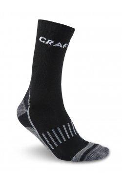 Носки Craft - Warm Training 2-Pack Sock Black, p.40/42 (CRFT 1903430.2999-40/42)