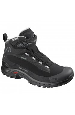 Ботинки мужские Salomon - Deemax 3 TS WP Black/Black, р.41 1/3 (SLM DEEMAX.376878-7,5)