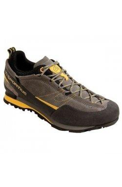 Кроссовки мужские La Sportiva - Boulder X Grey/Yellow, р.41 (LS 838GY-41)