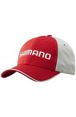 Кепка Shimano Standard Cap ц:red/gray
