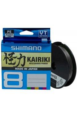 Шнур Shimano Kairiki 8 PE (Steel Gray) 150m 0.215mm 20.8kg