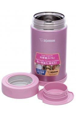 Пищевой термоконтейнер ZOJIRUSHI SW-FCE75PS 0.75 л ц:розовый