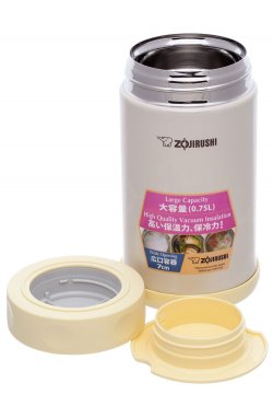 Пищевой термоконтейнер ZOJIRUSHI SW-FCE75YP 0.75 л ц:бежевый
