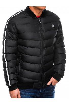 Куртка мужская демисезонная (осенне-весенняя) K416 - Черный