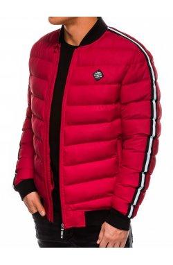 Куртка мужская зимняя K416 - Красный