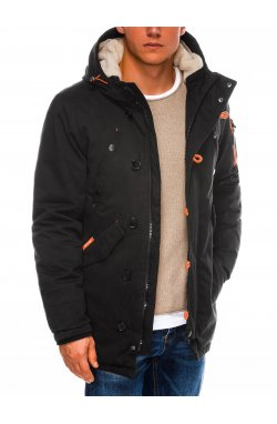 Куртка мужская зимняя K421 - Черный