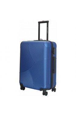 Чемодан Enrico Benetti LOUISVILLE/Steel Blue M Средний Eb39040 088-60
