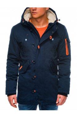 Куртка мужская зимняя K421 - Синий