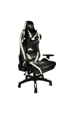 Кресло VR Racer Expert Guru черный/белый - AMF - 545089