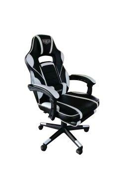 Кресло VR Racer Dexter Vector черный/белый - AMF - 545087