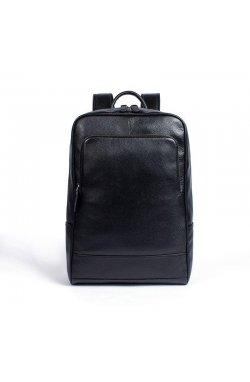 Увеличенный рюкзак из натуральной кожи B10-8110 черный Черный
