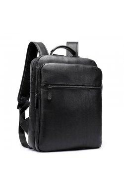 Рюкзак из натуральной телячьей кожи B10-8388 Joynee Черный