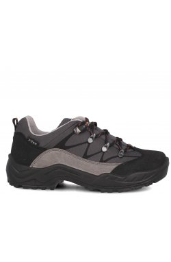 Ботинки Forester 3698-V2 унисекс (чёрный/серый)